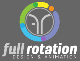 full rotation logo