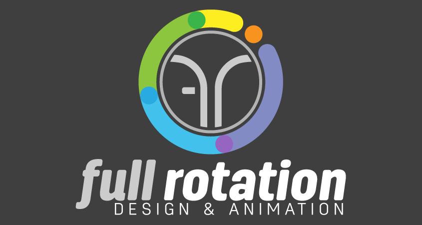 Full Rotation Design and Animation logo
