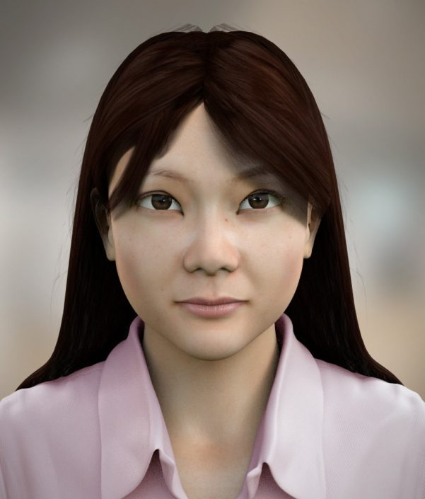 Shell Oil Chinese 3d avatar