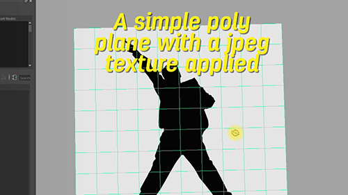texture on a polygon plane