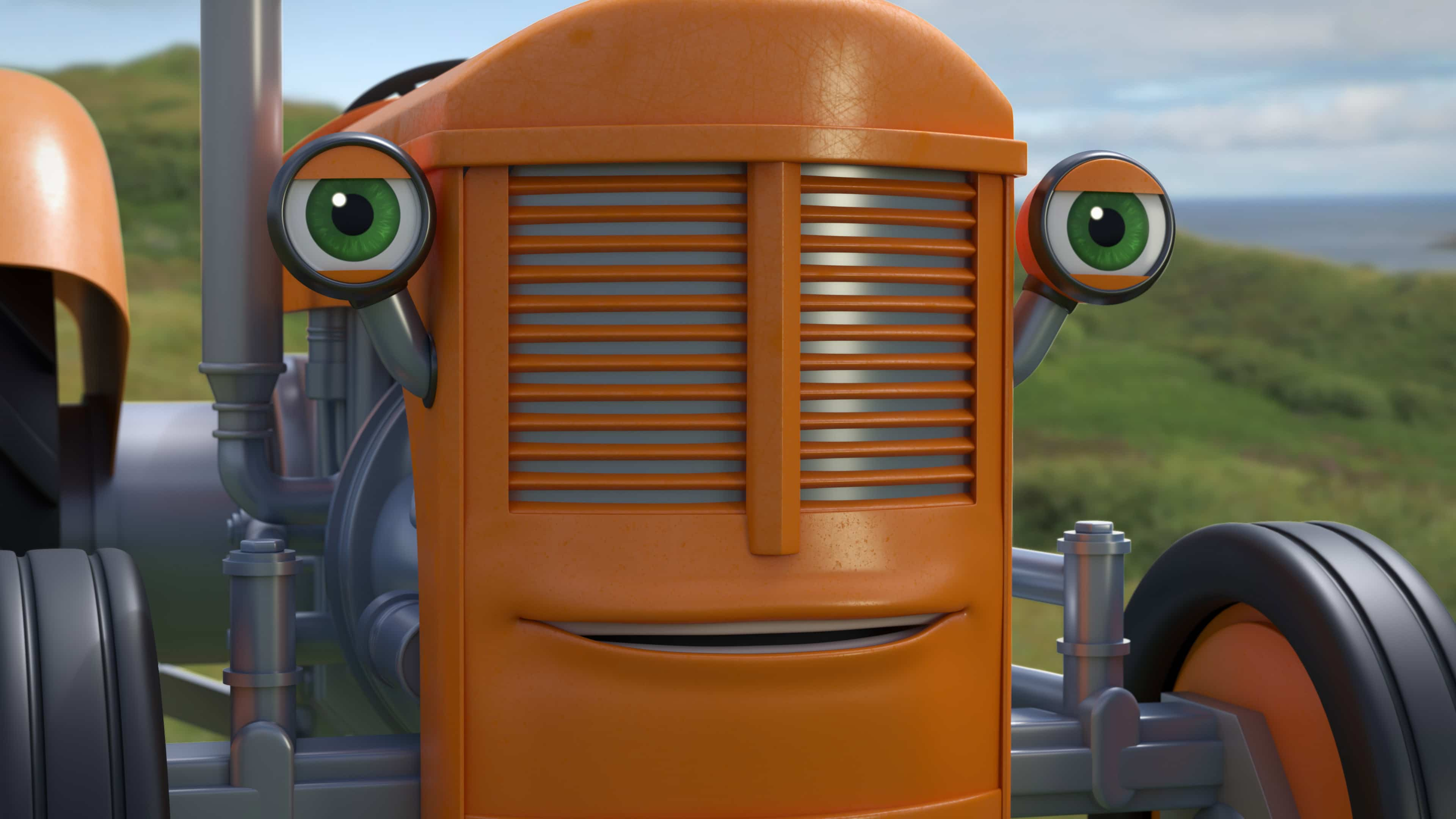 Fergie the 3d tractor character