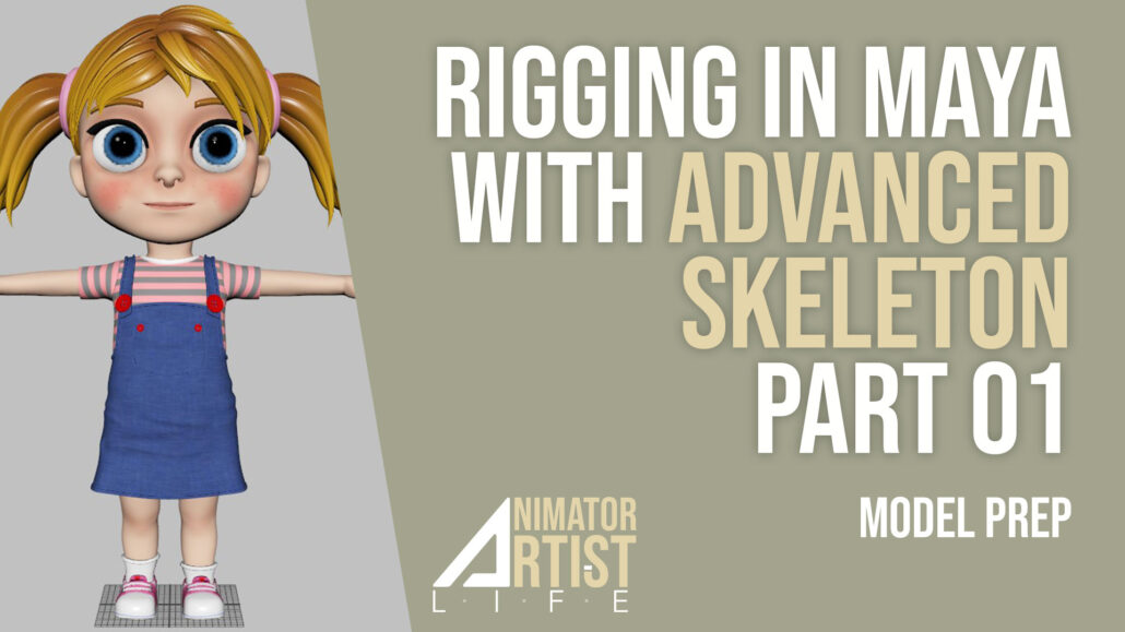Rigging with advanced skeleton part 01